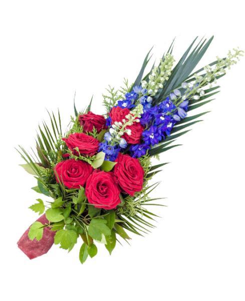 F910 Centro funerario seis rosas