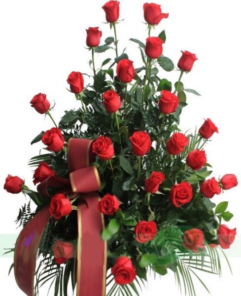 F930 Centro funerario de 30 rosas